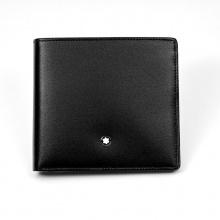 MontBlanc万宝龙 皮夹 黑色   10.5cm(长)×9.5cm(宽)