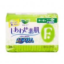 花王乐而雅 F系列超薄多量日用护翼卫生巾 22.5cm 20片 日本进口