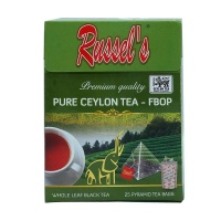 拉舍尔(Russel's)全叶茶-碎花橙黄白毫(FBOP) 2g*25/盒 斯里兰卡进口