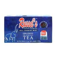 拉舍尔(Russel's)红茶100g 2g*50/盒 斯里兰卡进口
