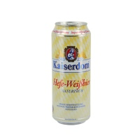 凯撒白啤酒500ml/听 德国进口