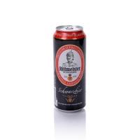 意文 德国进口黑啤酒 Dose Rittmeister Pils 500ml 听装