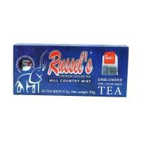 拉舍尔(Russel's)红茶50g 2g*25/盒 斯里兰卡进口