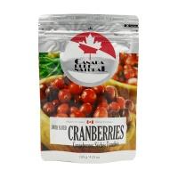 纯源(canada pure natural)蔓越莓原汁果干 切片蔓越莓干 休闲零食 120g 加拿大进口