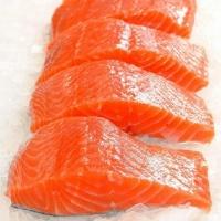 费奥德 苏格兰鲜冻三文鱼刺身级(带皮) 冰冻海鱼海鲜 500g*2 苏格兰进口
