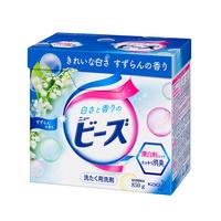 花王KAO洗衣粉 铃兰花香 850克 日本进口 强效去污 防止褪色