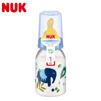 NUK PP 彩色卡通奶瓶110ML (带1号硅胶仿真通气奶嘴)