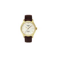 天梭 TISSOT 手表 力洛克系列机械男表T41.5.413.73