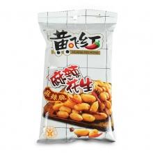 黄飞红 麻辣花生 210g 坚果炒货